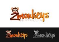 Graphic Design Entri Peraduan #6 for Logo Design for zMonkeys