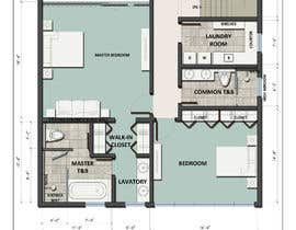 #58 para Reimagining the Floor Plan for My Home's Second Floor por archmasfa