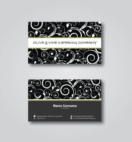 Contest Entry #27 for Business Card Design for Catering Company