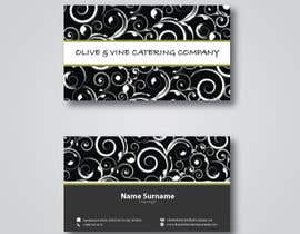 nº 27 pour Business Card Design for Catering Company par krizdeocampo0913