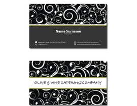 nº 28 pour Business Card Design for Catering Company par krizdeocampo0913