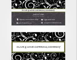 #43 for Business Card Design for Catering Company by preethamdesigns