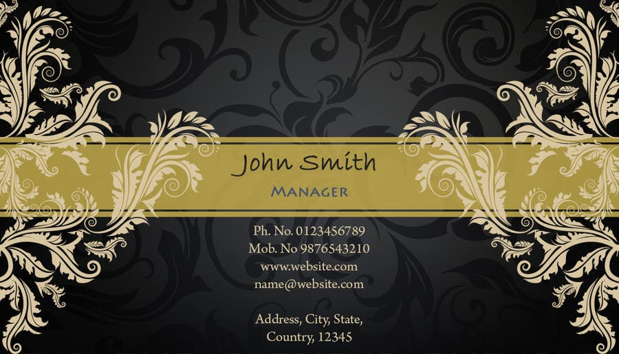 Print Contest Entry #23 for Business Card Design for Catering Company