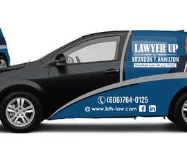 #83 for Design Professional Car Wrap for Lawyer by dindinlx