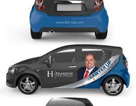#78 สำหรับ Design Professional Car Wrap for Lawyer โดย banduwardhana