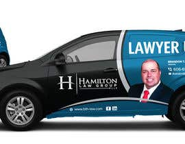 #67 for Design Professional Car Wrap for Lawyer by kaushalyasenavi