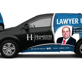 #80 for Design Professional Car Wrap for Lawyer by kaushalyasenavi