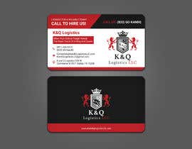 #185 for Business Card Design.... K and Q logistics LLC --- Logo Included by rtaraq