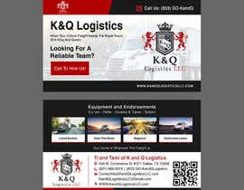 #413 for Business Card Design.... K and Q logistics LLC --- Logo Included by debasreegraphics