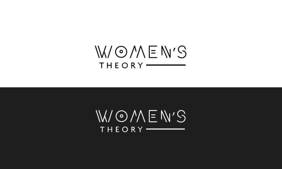 Inscrição nº                                         582                                      do Concurso para                                         I want a cool logo for my brand Women's Theory.