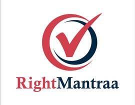 jpasif tarafından need a logo for our new brand 'RightMantraa' için no 143
