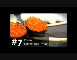 #4 для Create a youtube video    ----------------  Top 10 Newest types of Sushi от ahmedmidan3922