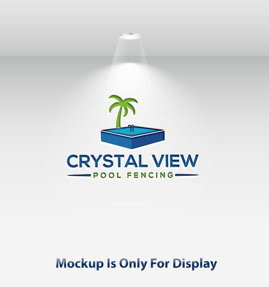 Contest Entry #                                        64                                      for                                         New Business Logo - Crystal View Pool Fencing