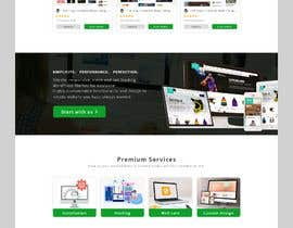 #36 для Homepage mockup for digital agency that serves nonprofits - DESIGN ONLY от Mostakim2001