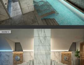 #30 para 3D rendering for a Hotel's Wellness Area por sercevik