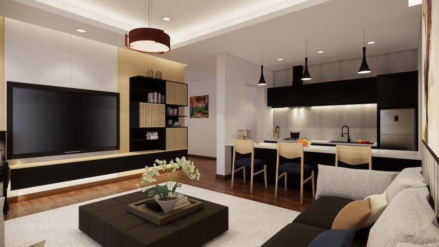 Bài tham dự cuộc thi #                                        63                                      cho                                         Apartment interior design