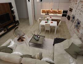 #58 untuk Apartment interior design oleh adahasa87