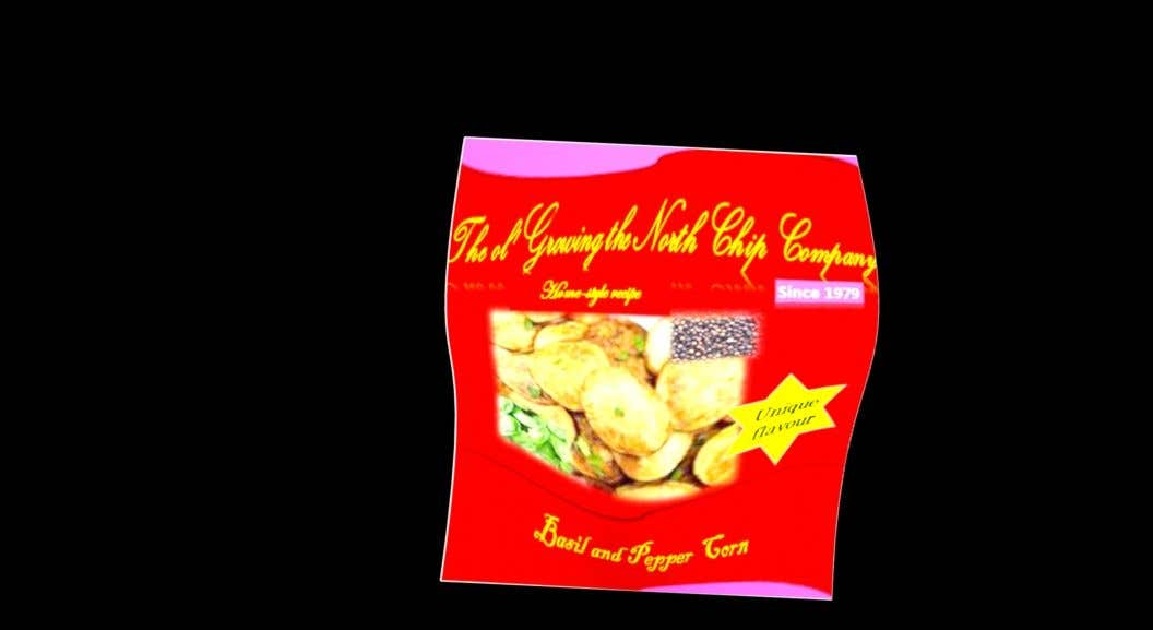 Contest Entry #                                        65                                      for                                         Need a packet of chips designed. Front and back.