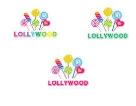 #104 untuk LOLLYWOOD LOGO DESIGN oleh JaneBurke