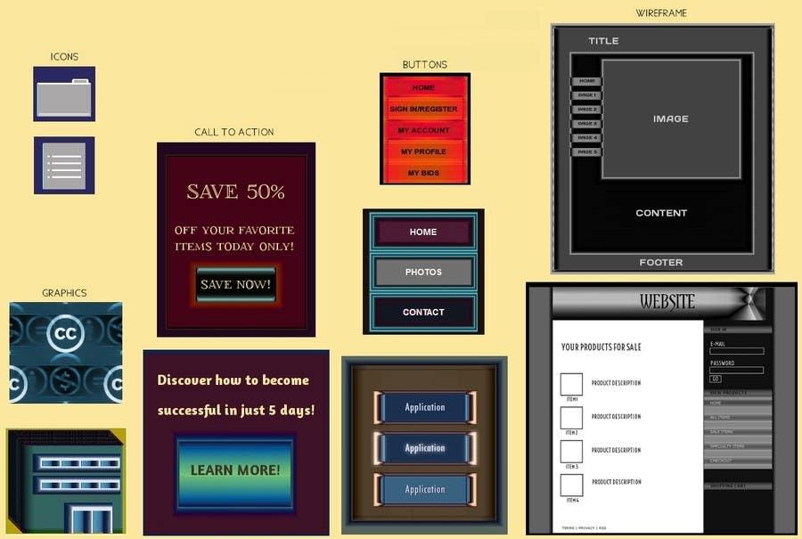 Kilpailutyö #                                        3                                      kilpailussa                                         Icon or Button Design for website