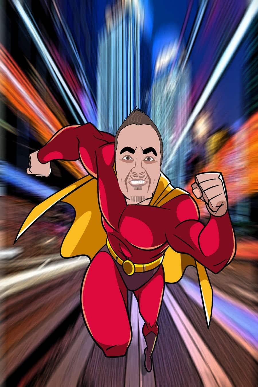 Penyertaan Peraduan #                                        53                                      untuk                                         SUPERHERO - Convert photo to superhero image