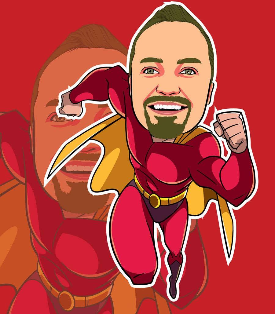 Bài tham dự cuộc thi #                                        40                                      cho                                         SUPERHERO - Convert photo to superhero image