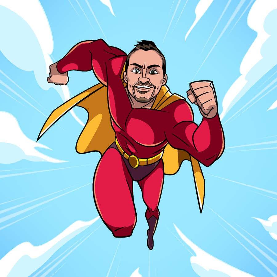 Penyertaan Peraduan #                                        54                                      untuk                                         SUPERHERO - Convert photo to superhero image