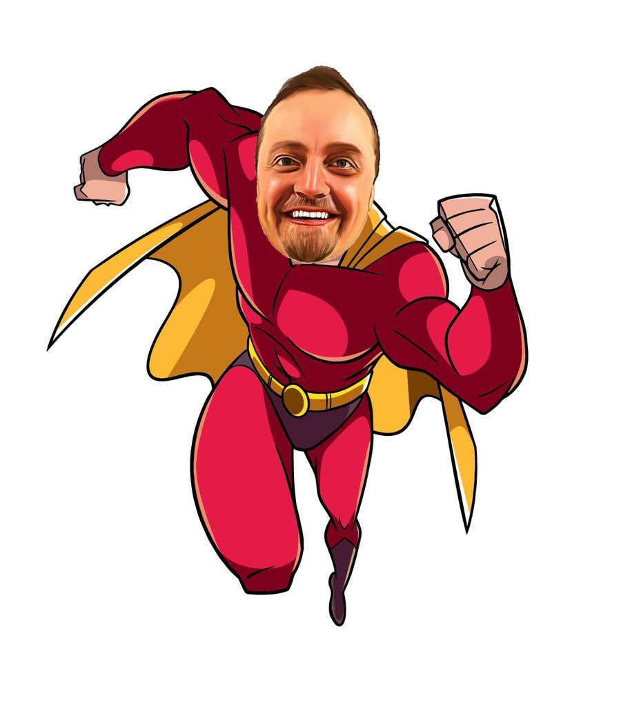 Bài tham dự cuộc thi #                                        55                                      cho                                         SUPERHERO - Convert photo to superhero image