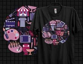 #45 для Fine Arts Society T-shirt Design от johnsabuz