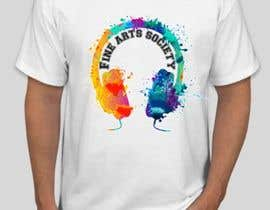 #61 для Fine Arts Society T-shirt Design от chowdhuryshahin5