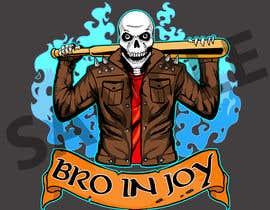#40 untuk Logo for Gaming / Streamer - Skeleton, Logo, Baseball Bat, Rocker, Sons of Anarchy like oleh Dreamcatcher321