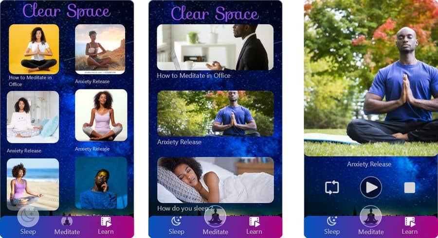 Contest Entry #                                        7                                      for                                         Meditation App
