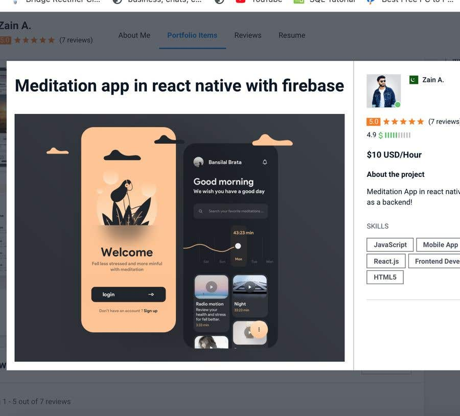 Contest Entry #                                        2                                      for                                         Meditation App