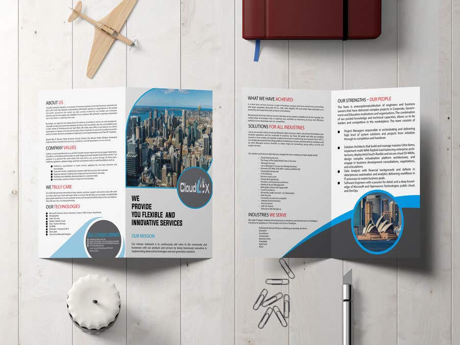 Kilpailutyö #                                        21                                      kilpailussa                                         Corporate Brochure