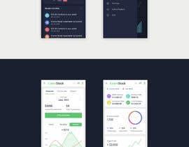 #45 for Finance Dashboard Single Page Mockup Design and Color Palette af znxked