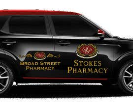samsudinusam5 tarafından Vehicle Wrap Design Stokes & Broad Street Pharmacy. için no 7