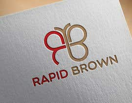 "#117 untuk Require a Logo for our new brand "" Rapid Brown "" oleh zerinomar1133"