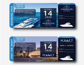 sshekharsharma tarafından Invitation to Exclusive Event - Boarding Pass Style için no 50