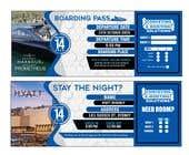 Invitation to Exclusive Event - Boarding Pass Style için Graphic Design44 No.lu Yarışma Girdisi