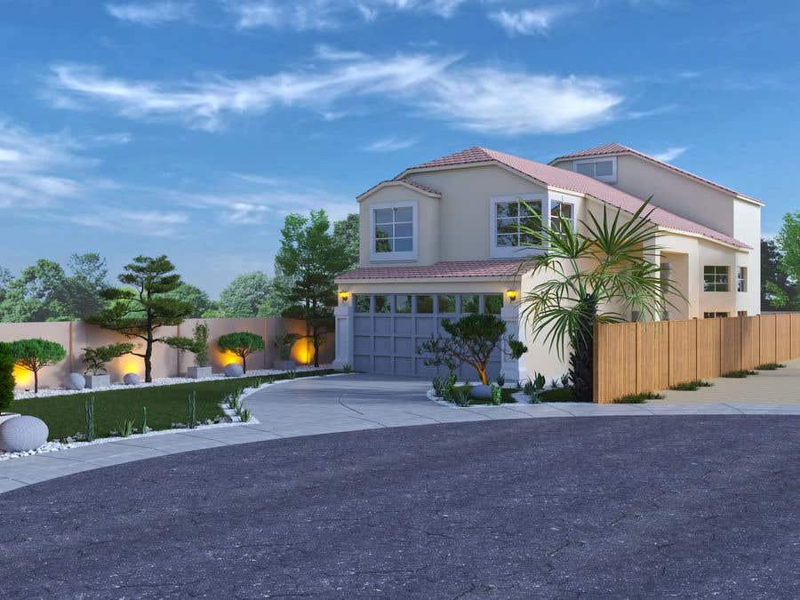 Penyertaan Peraduan #                                        7                                      untuk                                         3D landscape yard design