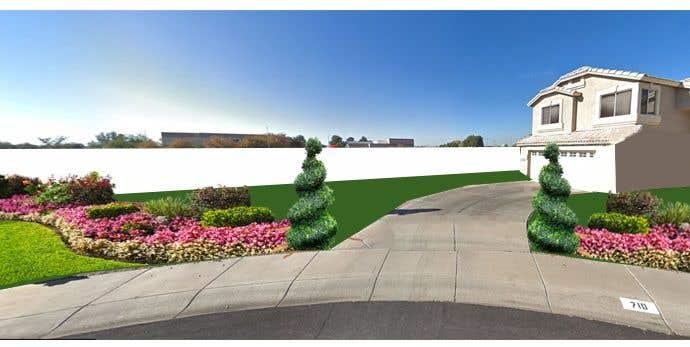 Penyertaan Peraduan #                                        40                                      untuk                                         3D landscape yard design