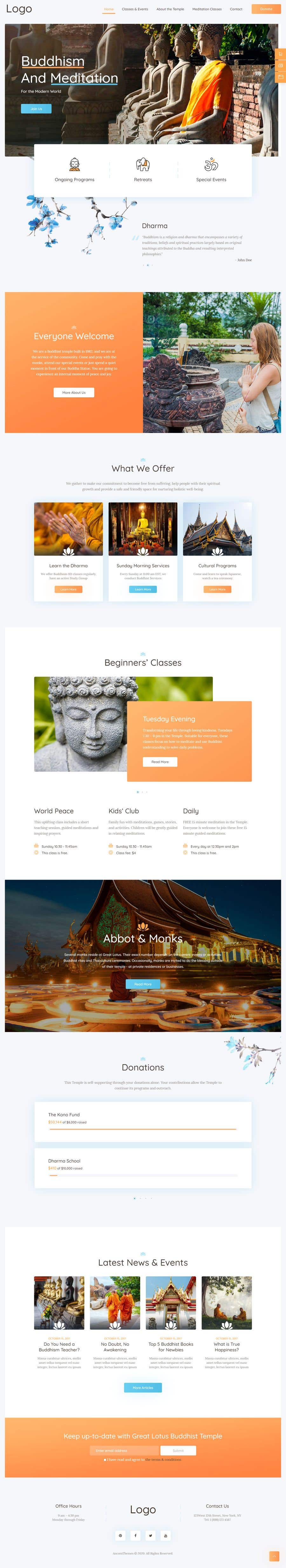 Konkurrenceindlæg #                                        30                                      for                                         A Professional Web Designer is require to design a Buddhist Charity Website