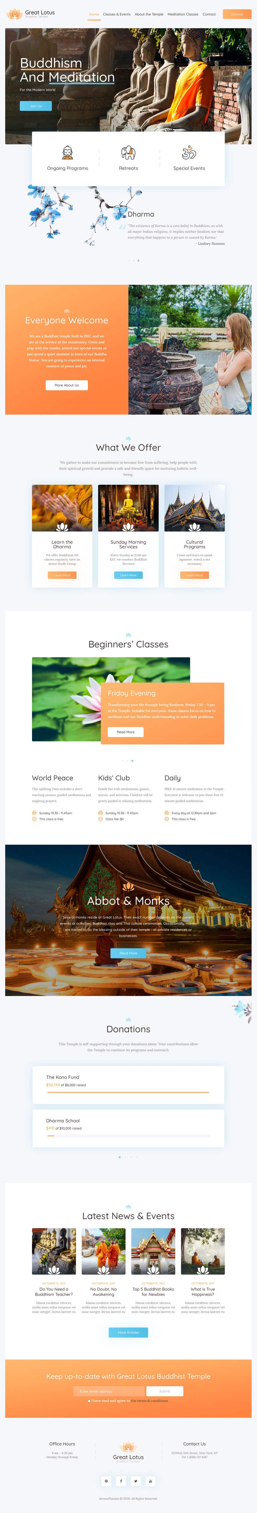 Konkurrenceindlæg #                                        4                                      for                                         A Professional Web Designer is require to design a Buddhist Charity Website