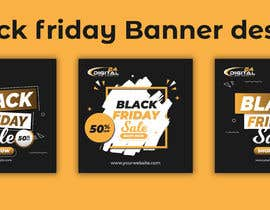 #47 for Create 3 banner for: black friday, Stock and offers by usukuks