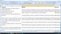Data Entry Contest Entry #2 for Put together a list of the 1000 of the best ways to make money online