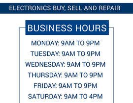 #20 for I need vector for my business hours af shamimayeasmin88