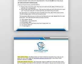 #87 for Create a pdf flyer by moslehu13