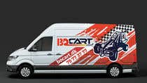 Graphic Design Contest Entry #253 for Design a RACING STYLE wrap for our new VW Crafter van