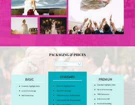 #35 untuk Wedding Photography Website Design oleh ulukman