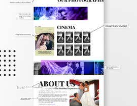 #24 untuk Wedding Photography Website Design oleh VojtechLousa